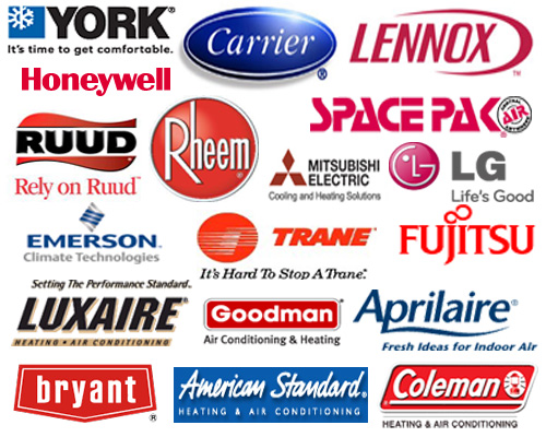 We service and install many of the top brands including:
